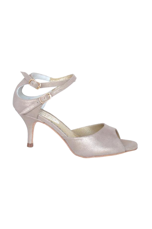 Tango Sandals Malena, soft suede in neutra color