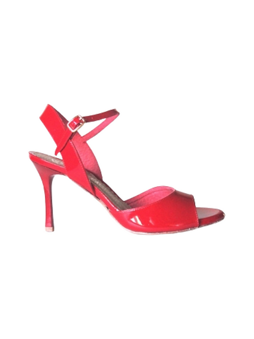 Tango Sandals Marisol, red patent leather