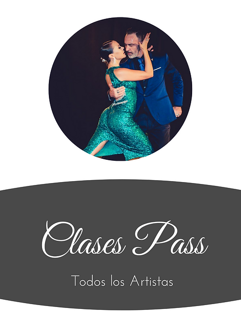 3 Clases - Pass
