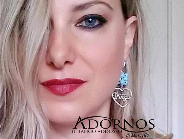 Beautiful women with earings