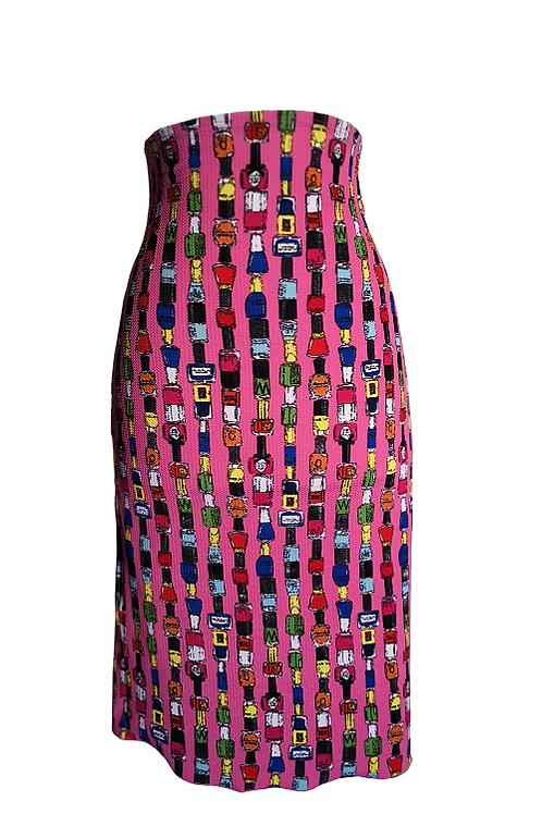 Skirt Tubo in piquet