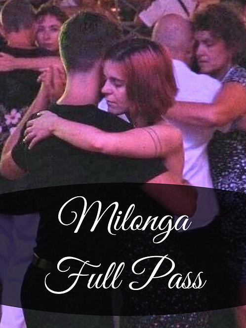 8 Milongas Full Pass