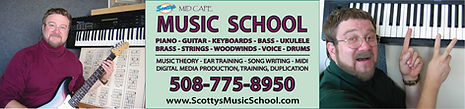 guitar lessons, piano lessons, bass lessons, ukulele lessons