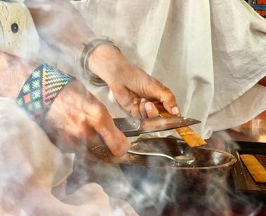 Serving sacred Kambo medicine