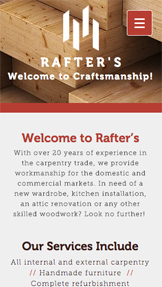 Business website templates wix business website templates carpenter cheaphphosting Choice Image