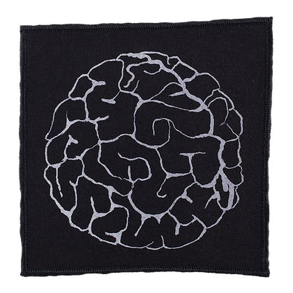 Iron-On Patch - Brained
