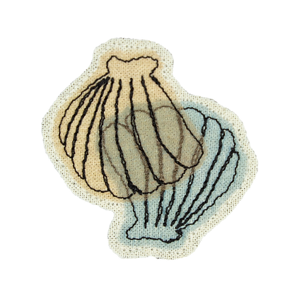Brooch - Cockle Shell