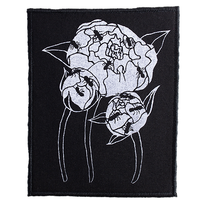 Iron-On Patch - Peonies