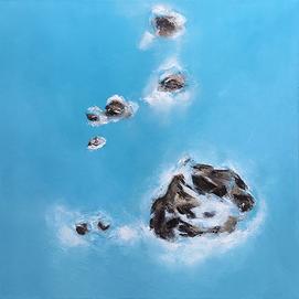 Bláa vatnið / The Blue Water