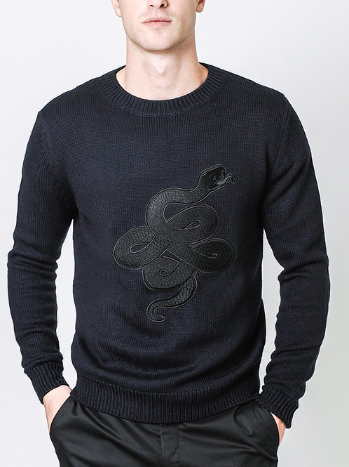 sweater burgues snake