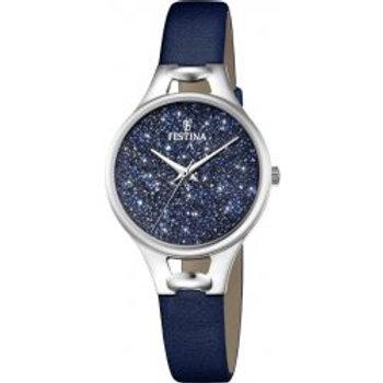 Reloj Festina F20334.2 Cristales Swarovski Mujer Or