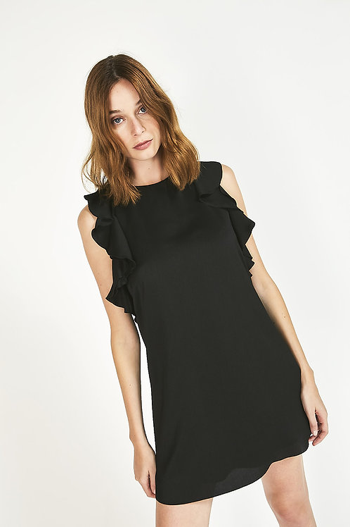 vestido hesione negro
