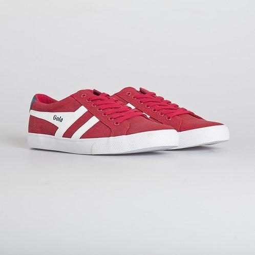 Copia de Zapatilla Gola Varsity Twill Rojo