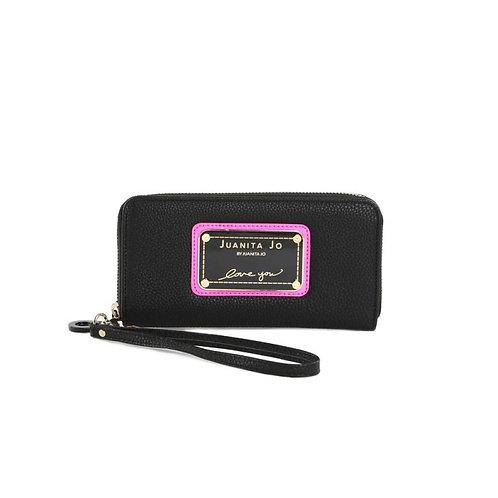 Billetera Juanita Jo Hand Pocket Rosa 30024