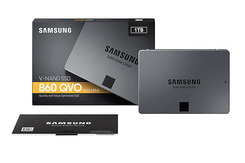 Samsung 860 QVO 1TB 2.5' SSD
