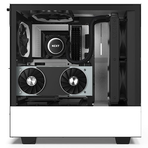 NZXT Matte White H510i Mid Tower Chassis w/ Smart Device