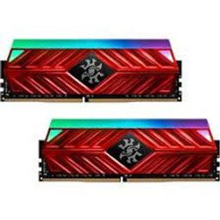 16GB KIT (2*8GB)  ADATA XPG SPECTRIX D41 RGB DDR4 3200MHz RED