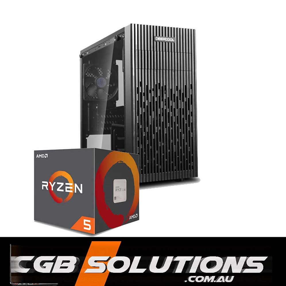 AMD RYZEN 2600/RX 580 8G/16G DDR4 3000/1TB/B350/80+ Bronze Gaming PC
