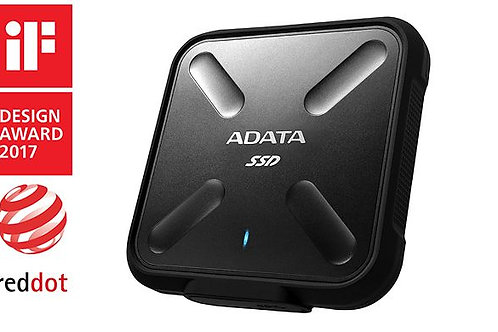 512GB EXTERNAL ADATA SSD Y/B Water/Dust Proof USB3.1