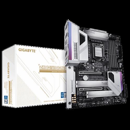 GIGABYTE Z490 VISION G Motherboard