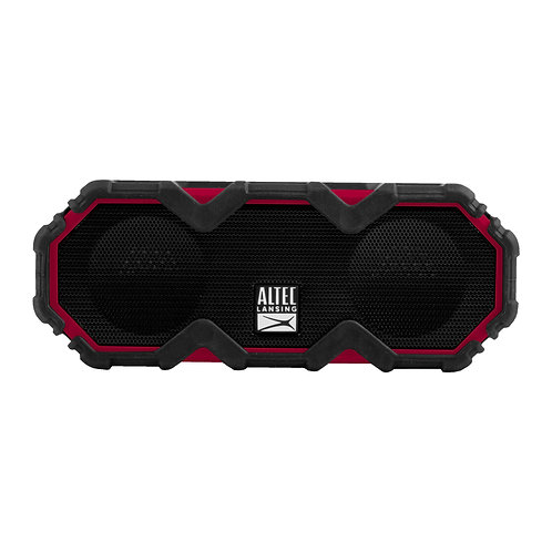Altec Lansing Mini LifeJacket Jolt Black/Red - EVERYTHING PROOF 16 Hours IP67