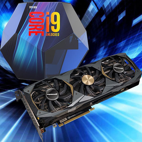 Intel i9-9900K & Triple Fan 2070 Super 8GB Bundle