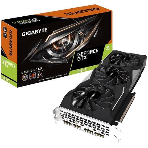 Gigabyte nVidia GeForce GTX 1660 Ti Gaming OC RGB 1860MHz