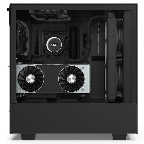 NZXT Matte Black H510i Mid Tower Chassis w/ Smart Device