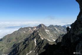 Grand Pic de Belledonne - Arête Nord intégrale et traversée des arêtes