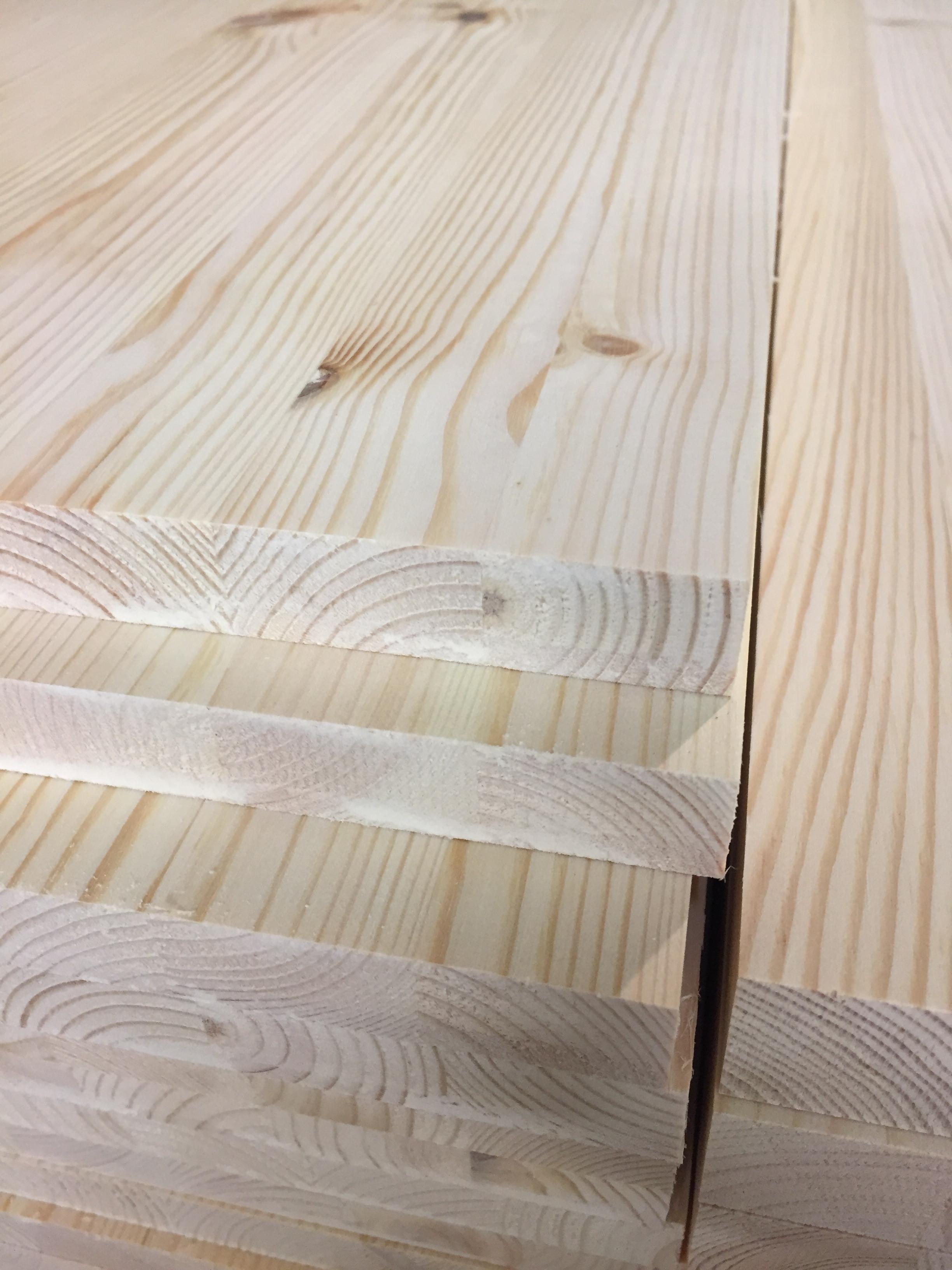 Scandinavian pine panel 18mm