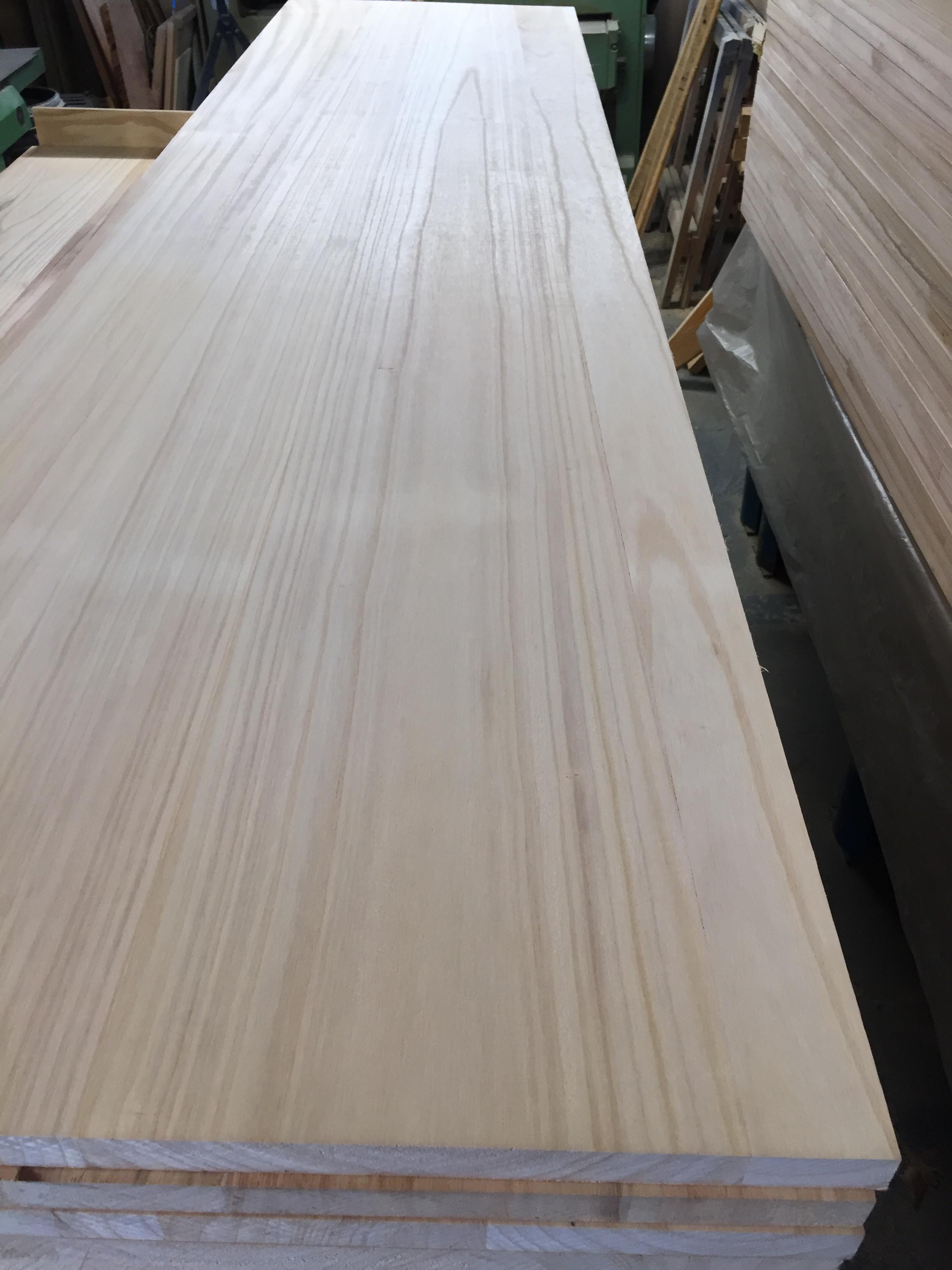Oak farm style hardwood furniture board
