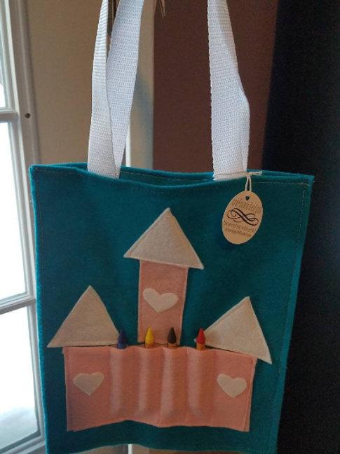 princess crayon bags