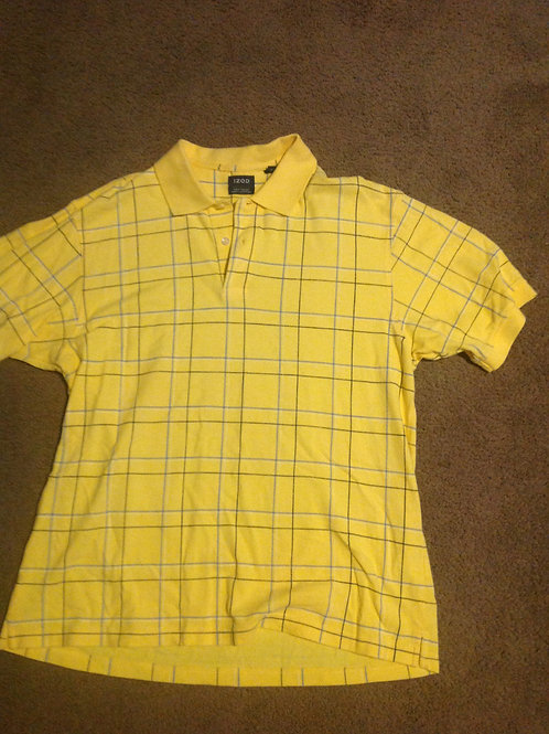 Izod large yellow golf shirt