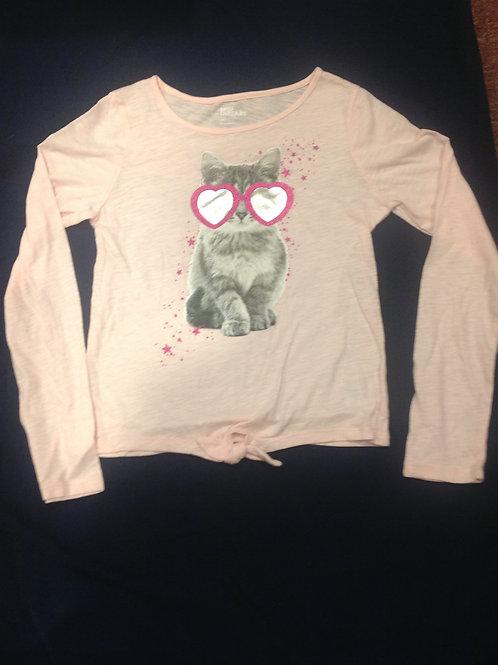 Epic Threads Lg pink ls shirt