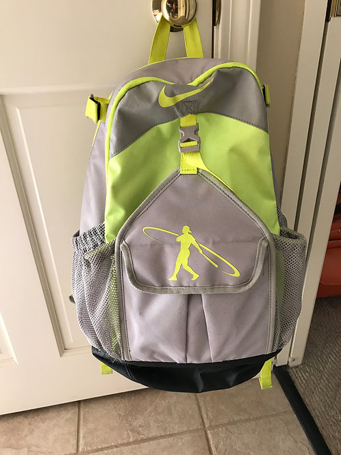 Softball baseball bag Holds 2 bats, helmet, glove