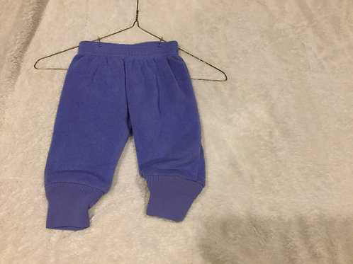 REI Purple Fleece Pants With Elastic Waist