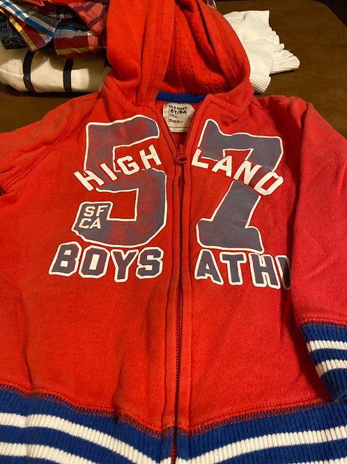 Old navy hoodie Red blue 57