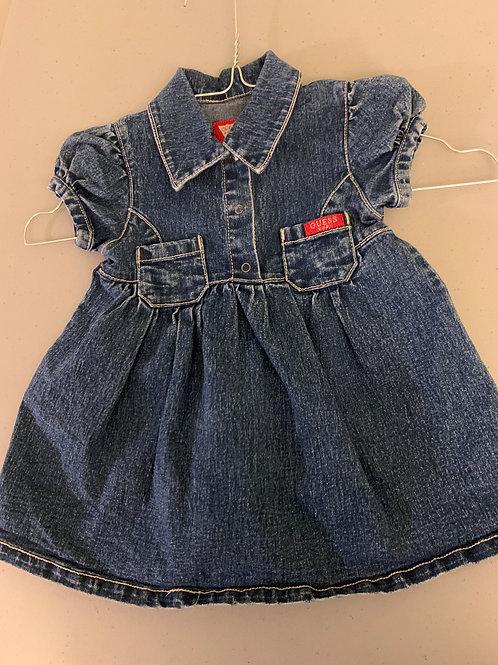 Guess baby jean short Sleeve dress
