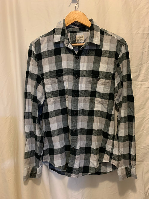 J.Crew gray flannel, slim fit, Med