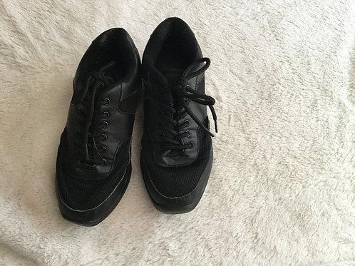 Black Tie Hip Hop Dance Shoes