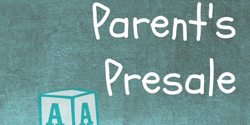 Fall New Parent Presale