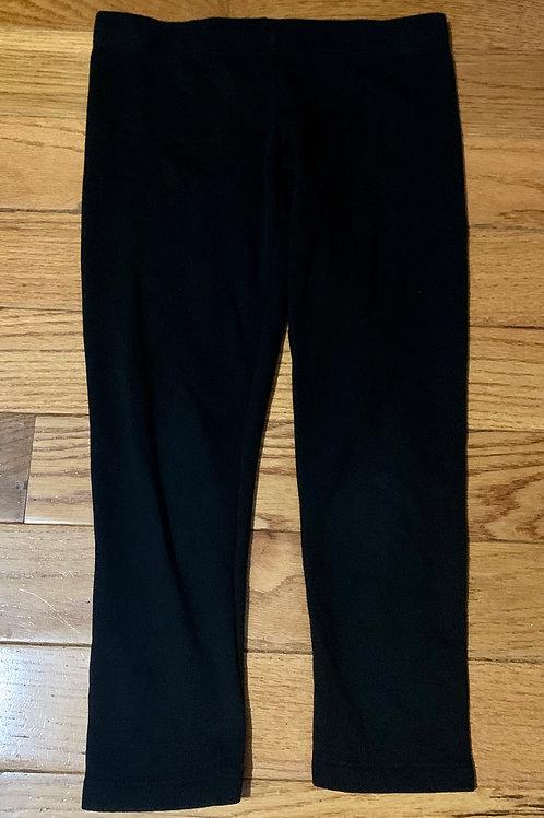Wonder Nation Blk warm stretch pants
