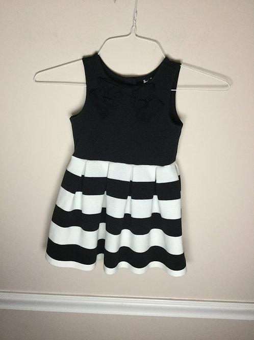 Janie jack back White stripe dress