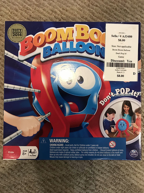 Boom Boom Balloon Don't Pop It!