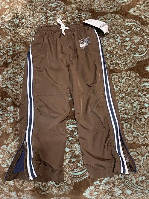 Osh Kosh bgosh pants brown white side stripe