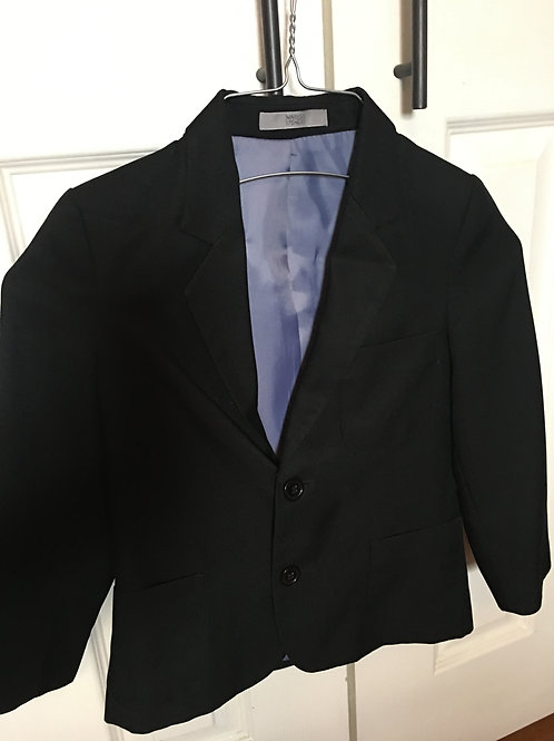 Marks &Spencer Boys blazer size 5 black