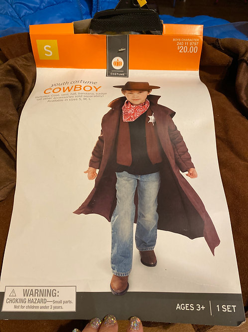 NWT youth costume Cowboy