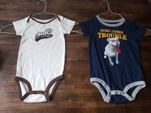 Koala baby/Carter Set of 2 onesies