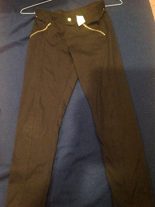 Faded Glory black cotton pants