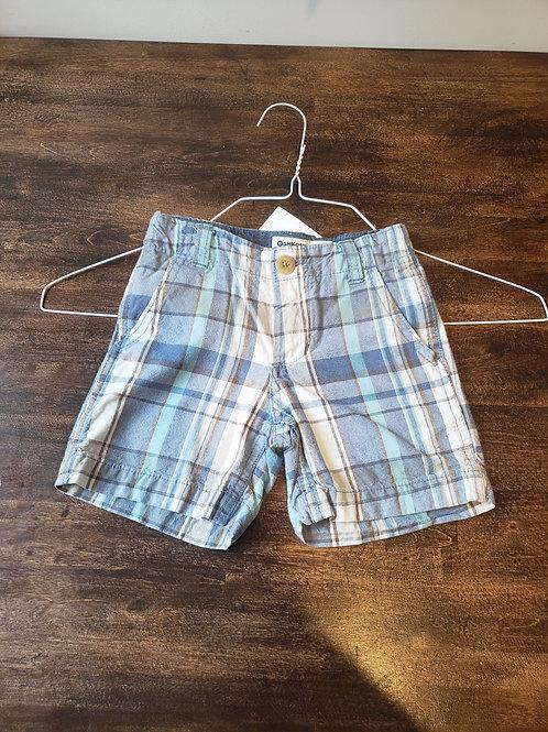 Osh Kosh B'gosh Blue Plaid Shorts
